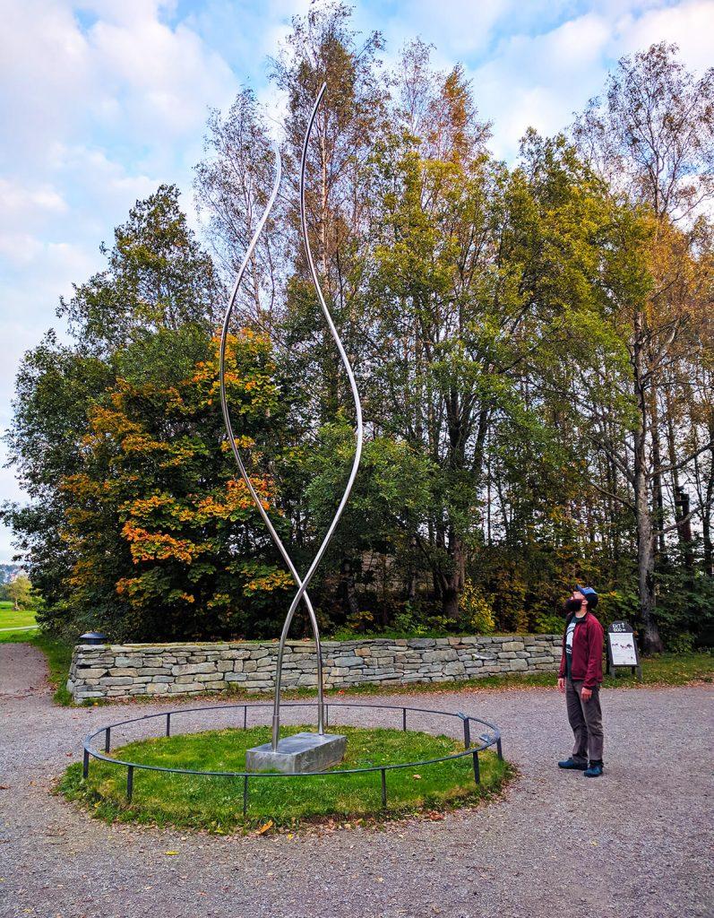 ekebergparken sculpture park moving wind