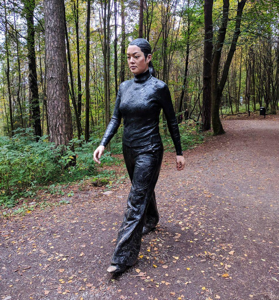 tall lady ekebergparken sculpture park