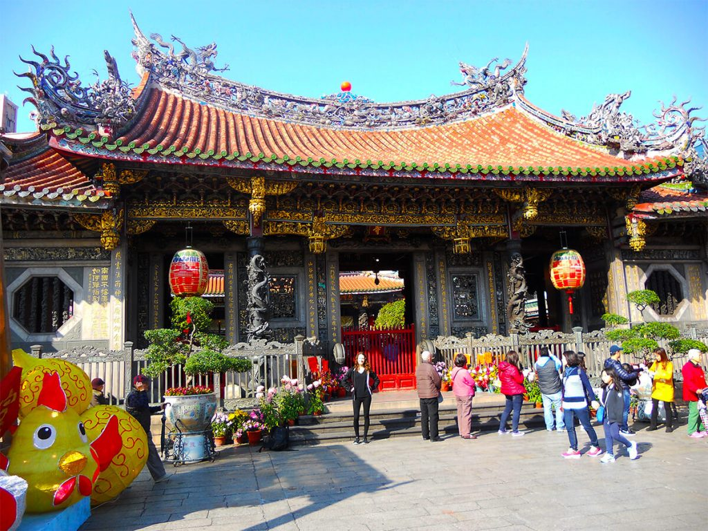 Lungshan Temple Taipei