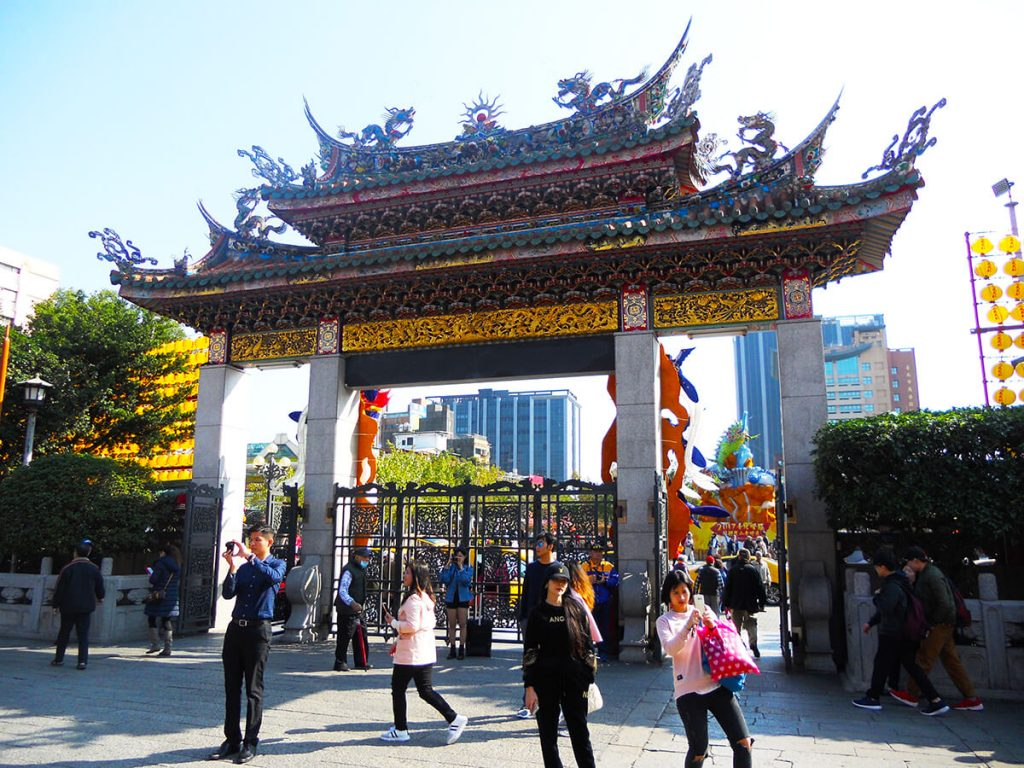 Lungshan Temple gate