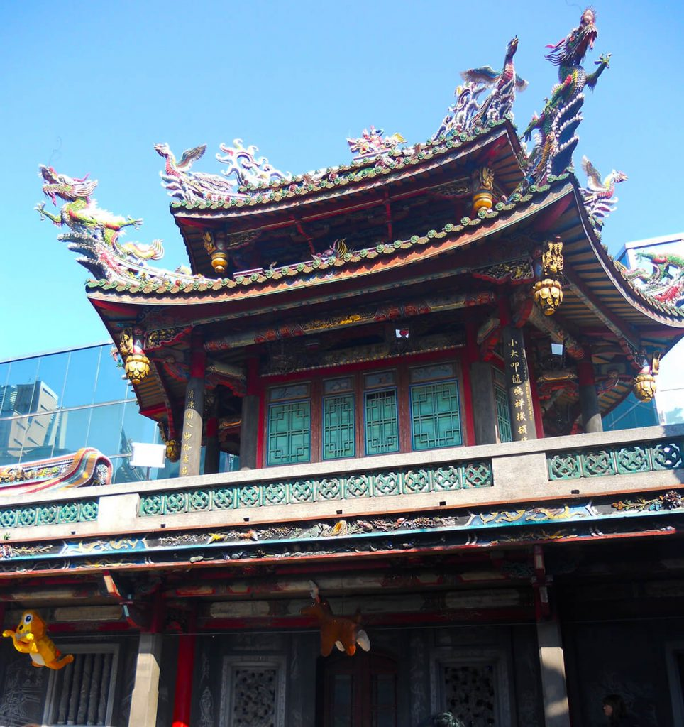 Lungshan Temple tower