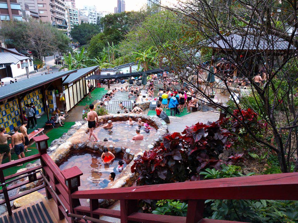 Taipei hot spring things to do in taipei