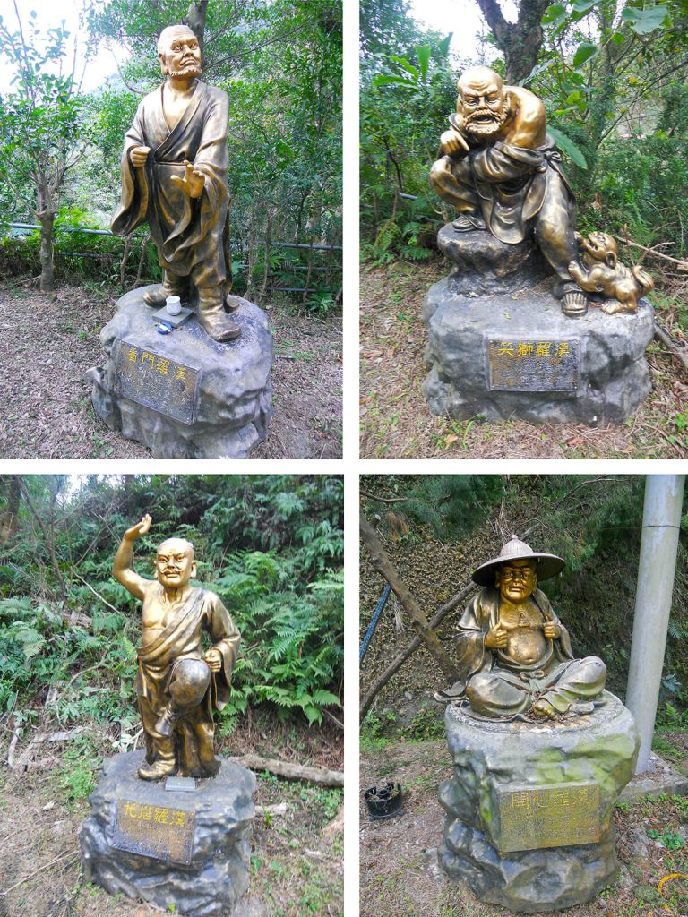elephant mountain statues