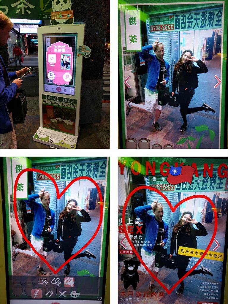 Taipei photo booth