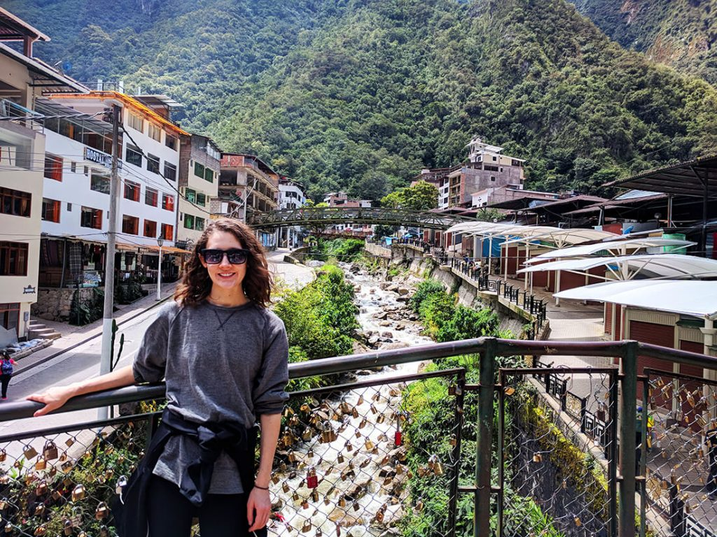 aguas calientes bridge