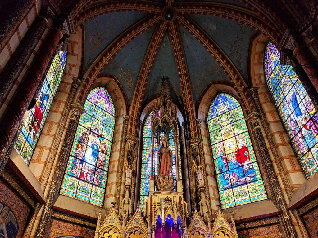 Basílica alter quito ecuador