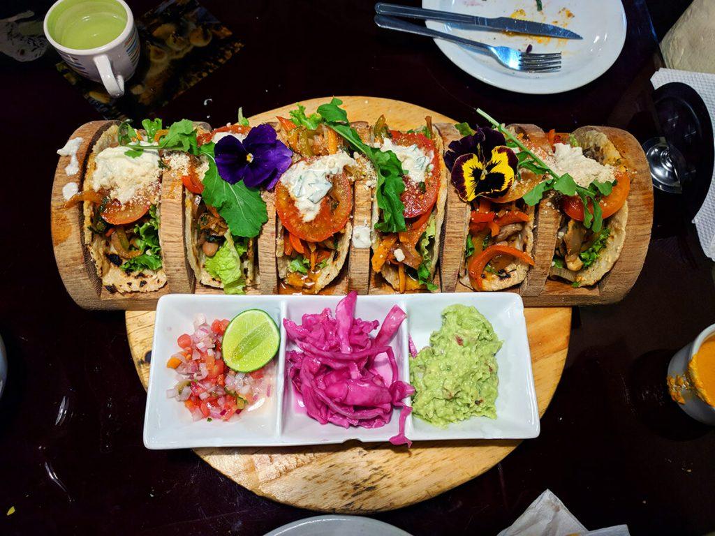 cusco peru vegan tacos