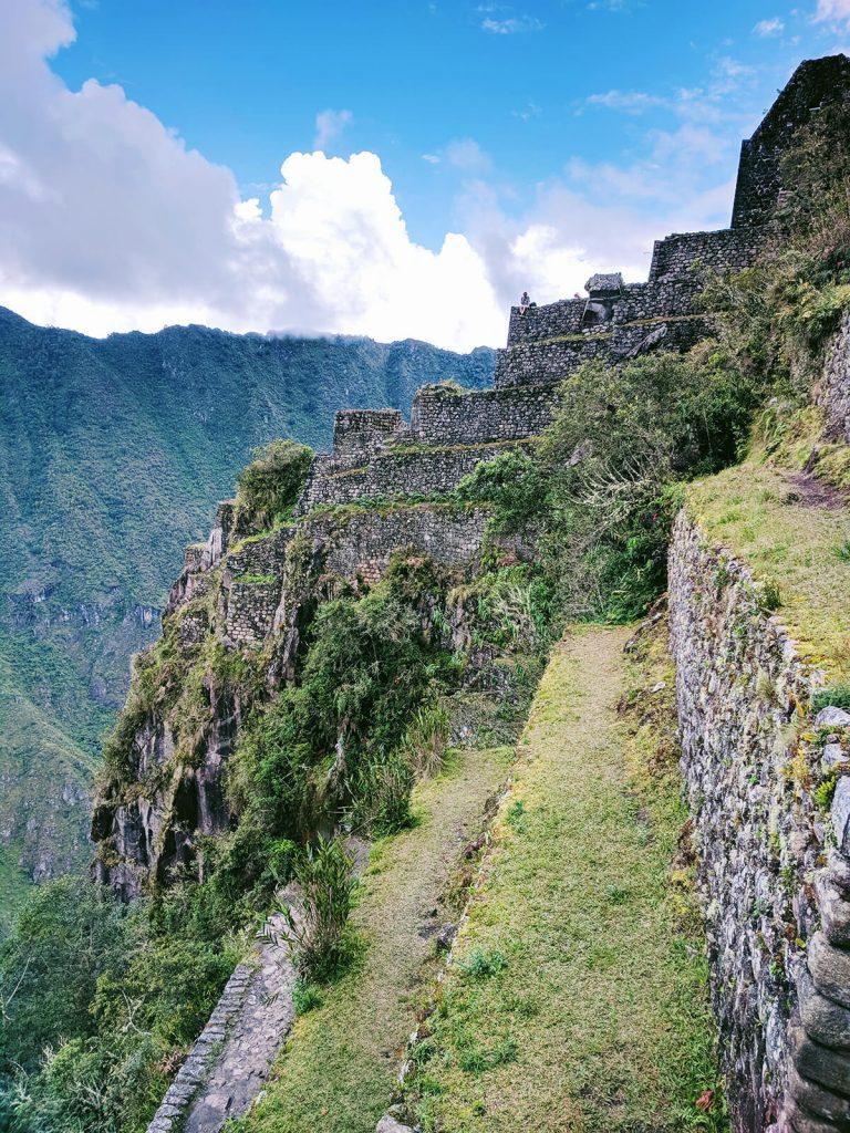 Huayna steps