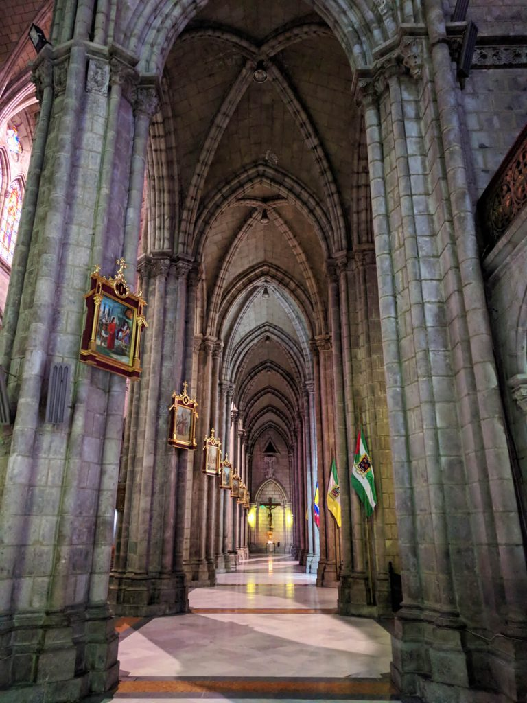 Basílica quito hogwarts