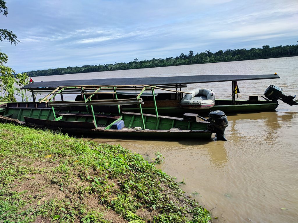 amazon boat storm