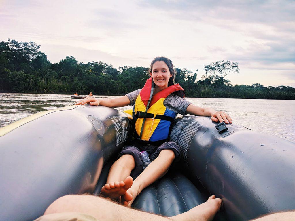 amazon river raft