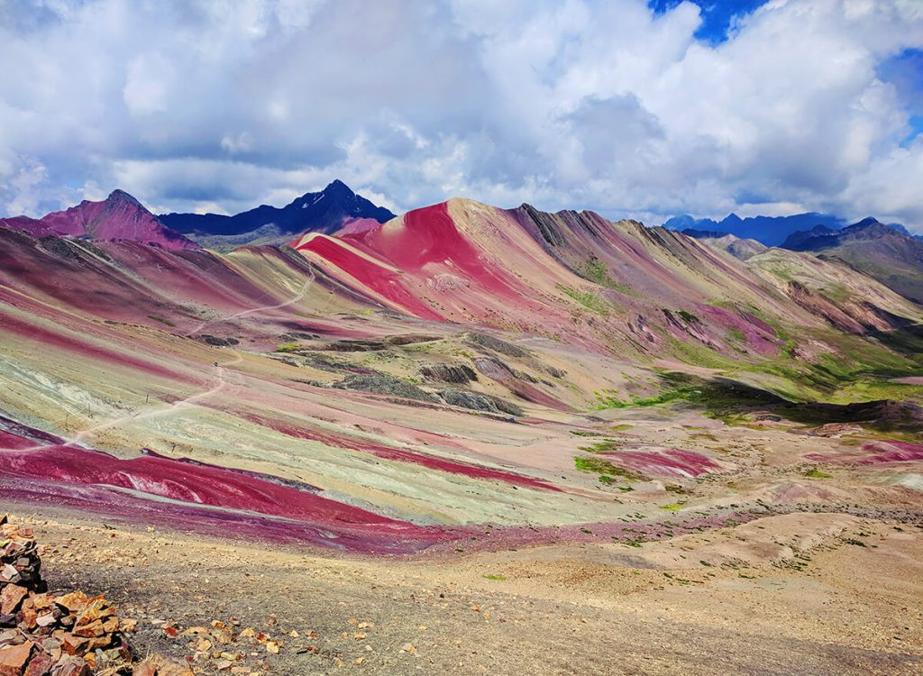 visit rainbow mountains peru