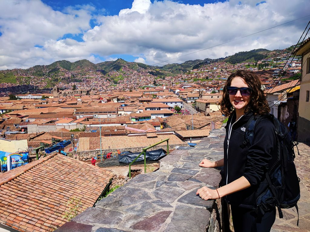 backpacking cusco