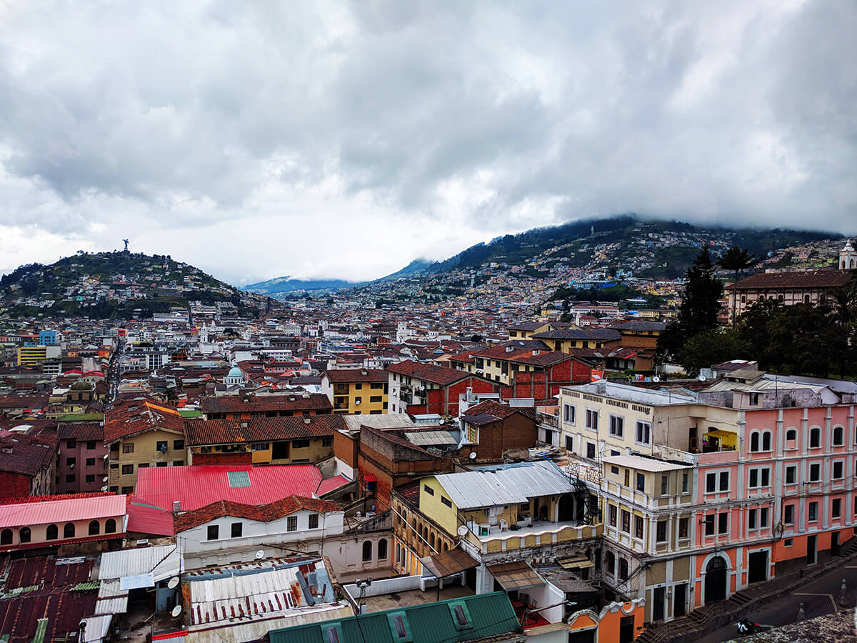 city of quito Ecuador