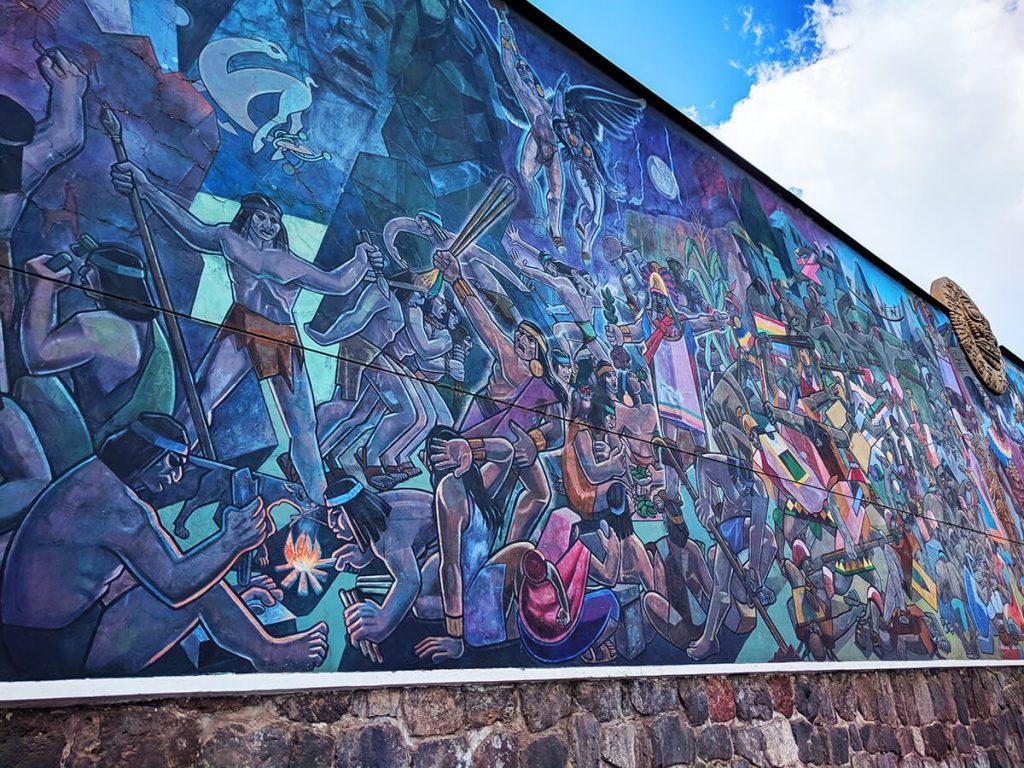 peru cusco mural