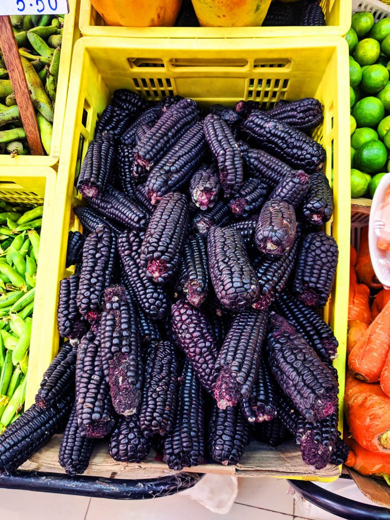 peru purple corn