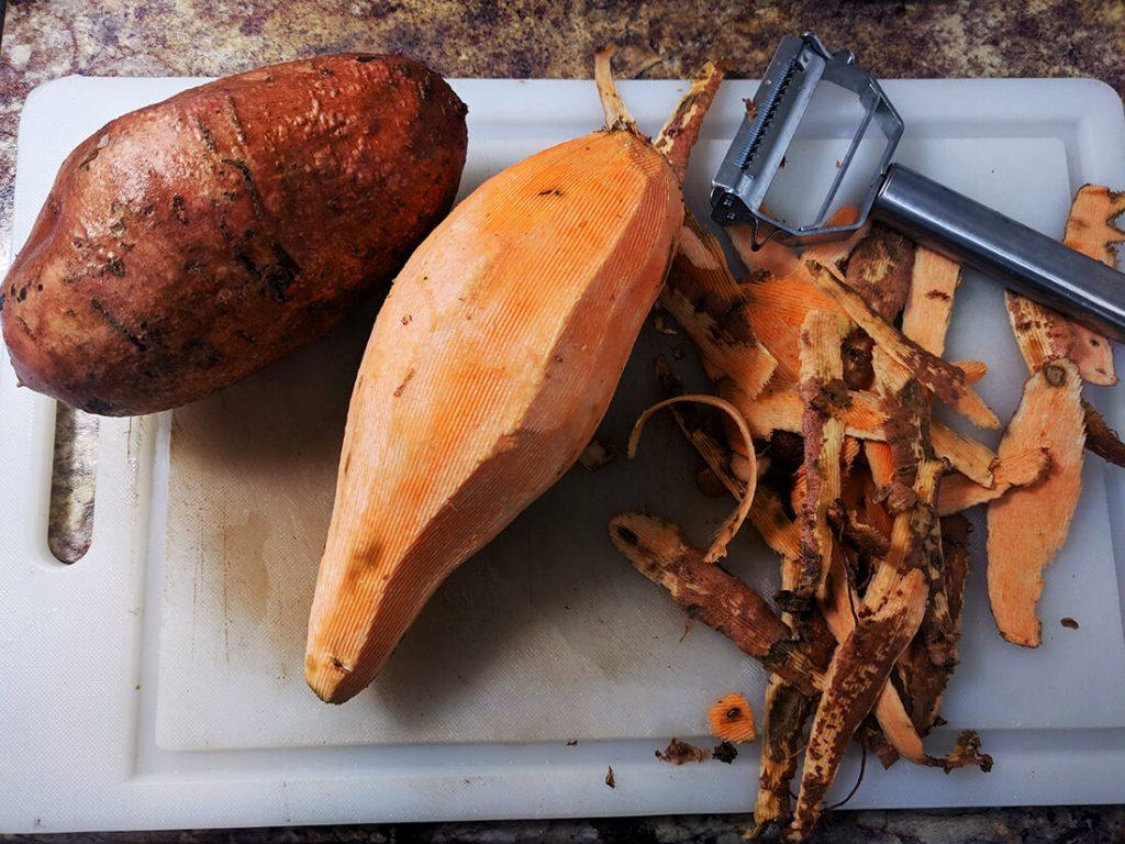 sweet potato chocolate pudding spartanlifeblog.com