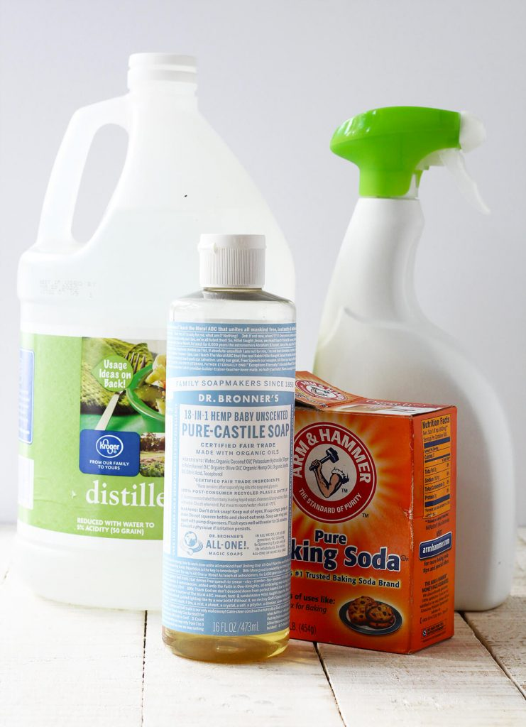 zero waste lifestyle cleaning products