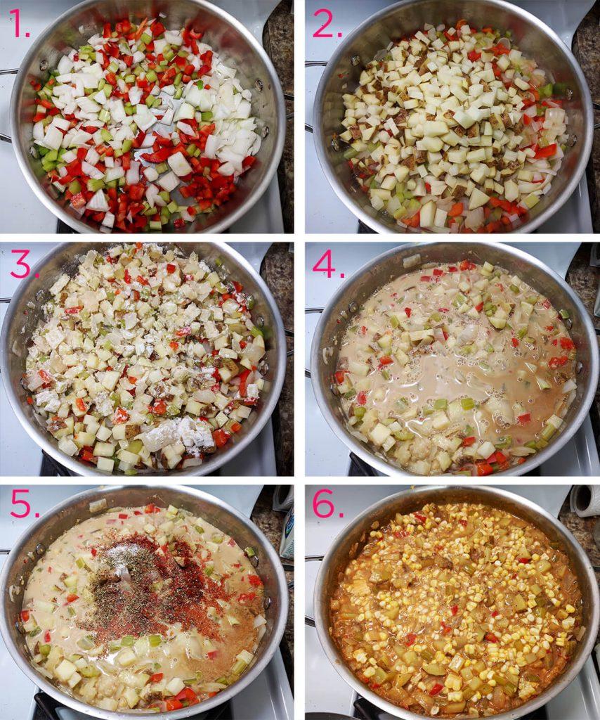 creamy corn chowder recipe | spartanlifeblog.com