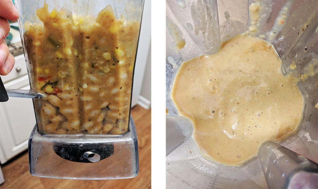 vegan creamy corn chowder | spartanlifeblog.com