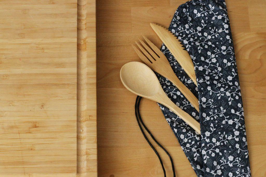 wooden cutlery zero waste | spartanlifeblog.com