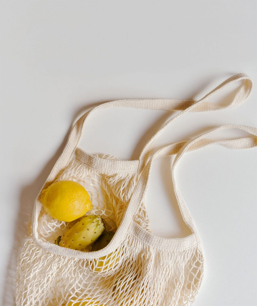 easy zero waste changes produce bags | spartanlifeblog.com