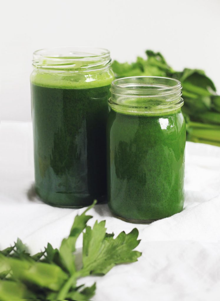 celery and cucumber juice