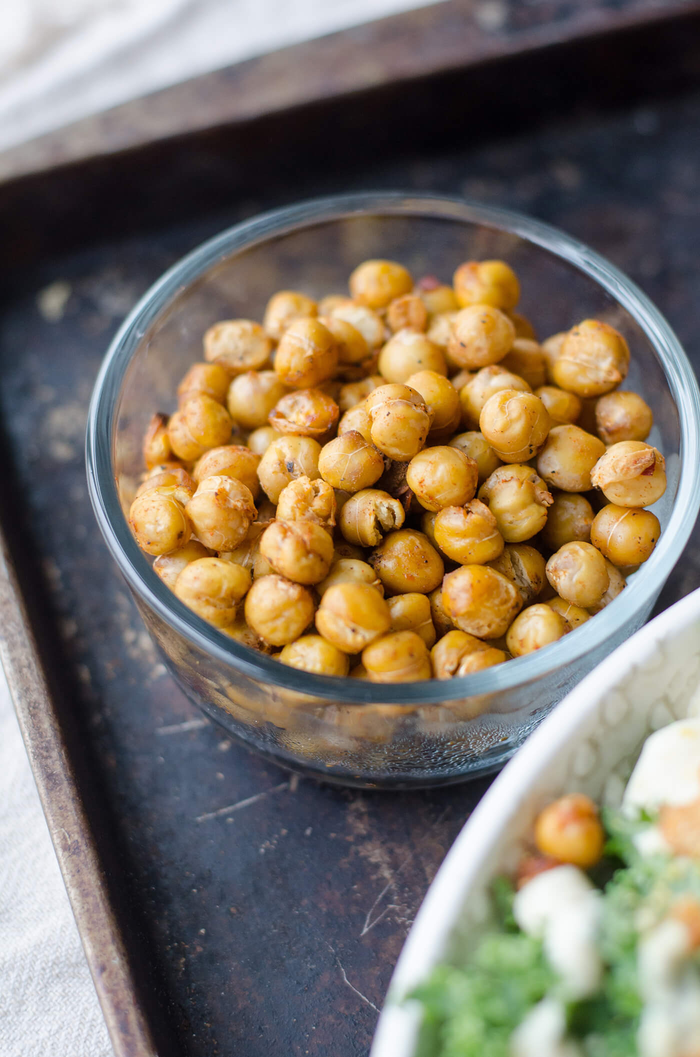 chickpea crisps for homemade roasted chickpea chips