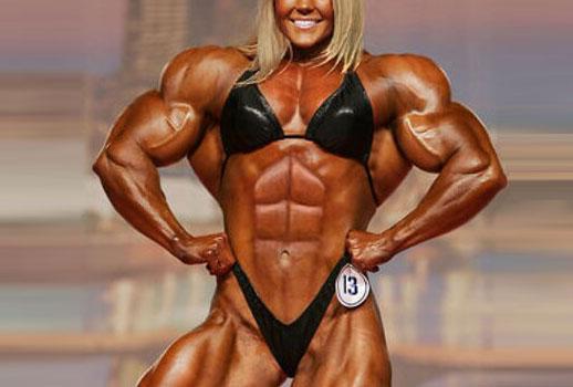 girl weight lift bulky