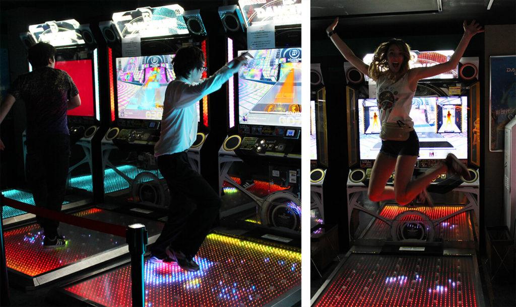 Akihabara dance games