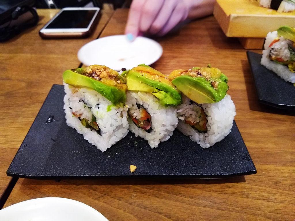 vegan sushi tokyo