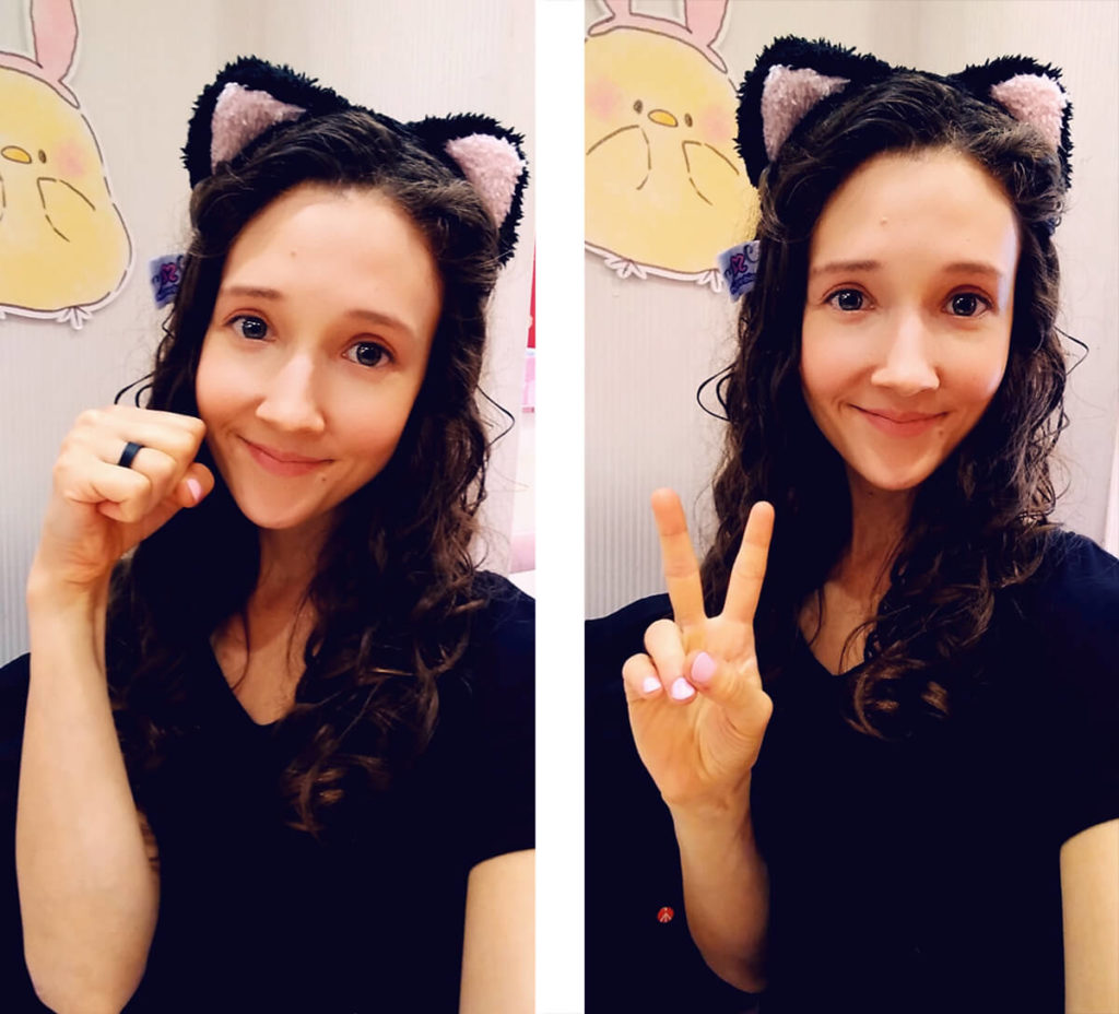maid cafe cat ears
