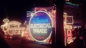 Disney World Electric parade
