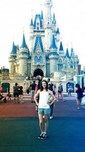 Disney World just me