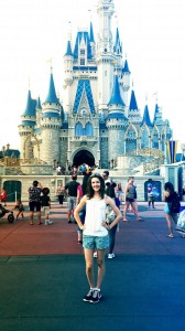 Disney World just me